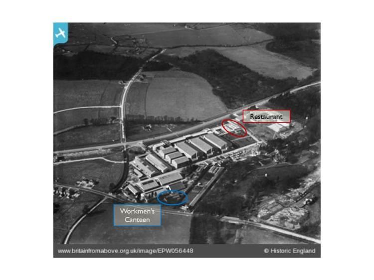 Fig 2 Britain - Dining spaces at Denham