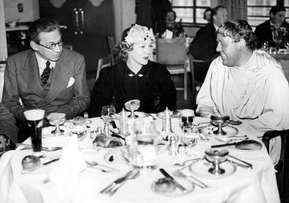 Fig 3 Britain - Korda, Pickford Laughton at Denham studio VIP restaurant