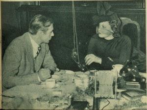 Gmy Image 4 Gary Cooper in discussion with Zarah Leander in the Ufa Kantine