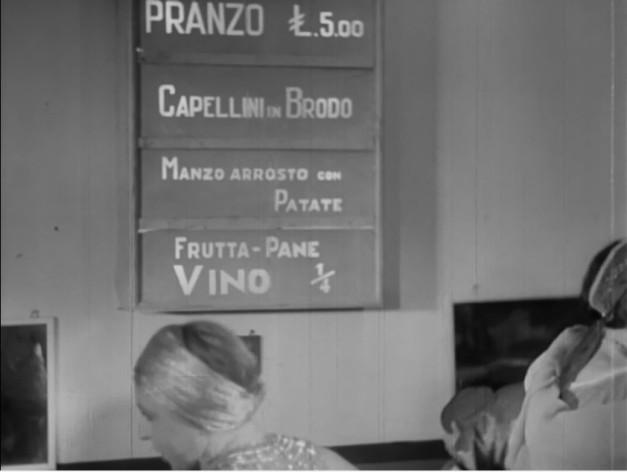 Italy Figure 3 - stella del cinema 48 camerini avviso ristorante